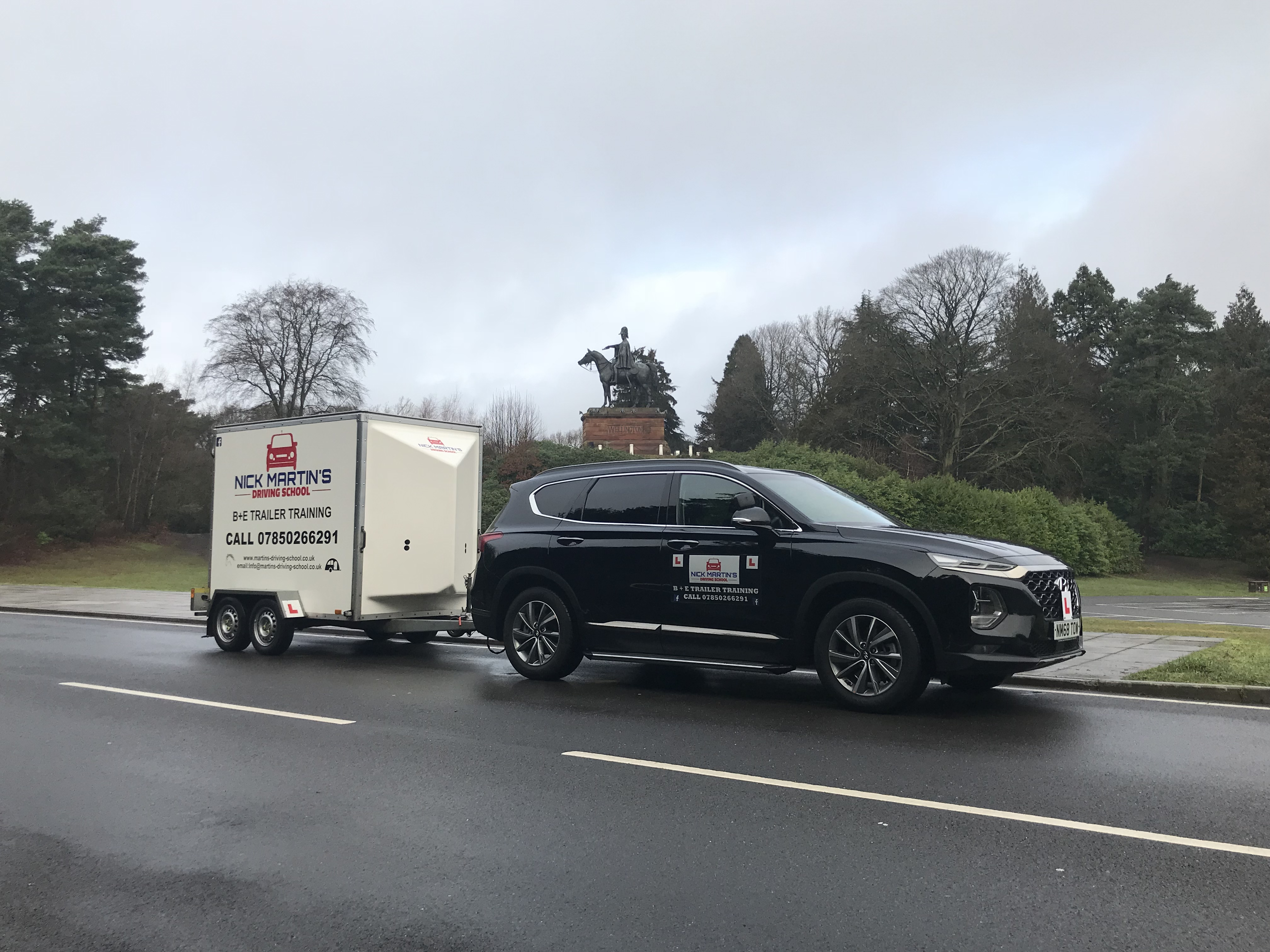 B+E Towing Courses in Guildford